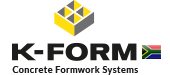KForm concrete shuttering formwork systems